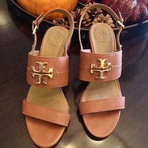 Tory Burch Lowell Block Heels/Sandals